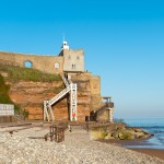 Jacob's ladder at Sidmouth Beach