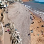 Sidmouth Beach - see, there is sand too!