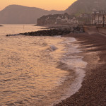 Sidmouth at dusk