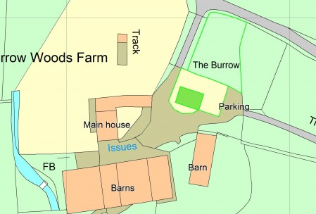 The Burrow Site Map